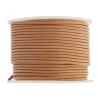 Leather Round Cord 1.5mm Tan